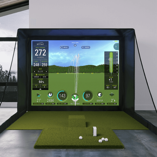 SkyTrak SIG10 Golf Simulator Package