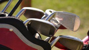 a clean golf club